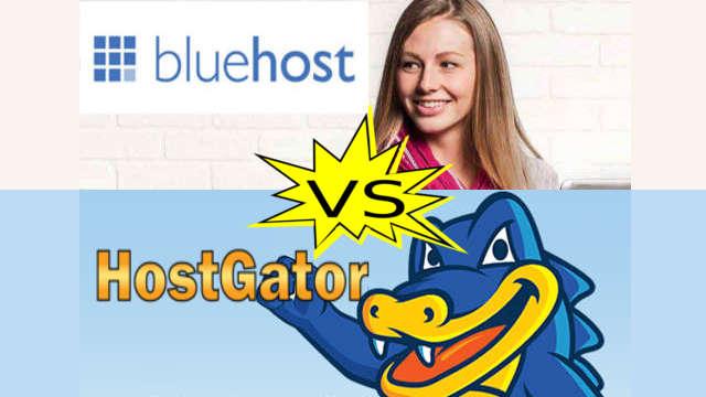 bluehost vs hostgator comparison