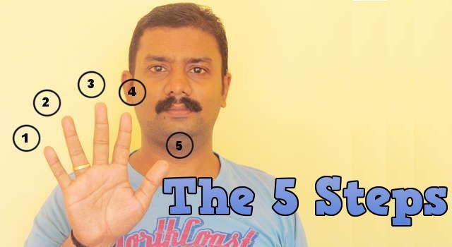 5 steps for website making