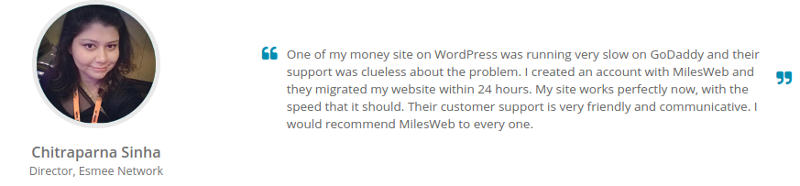 miles web webhosting reviews